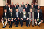 Kilwinning Burns Club top table 2006